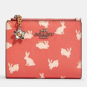 New•COACH bunny wallet